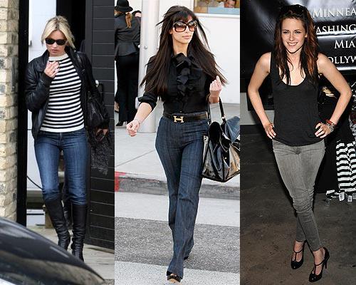 Jeans Kim Kardashian Wears